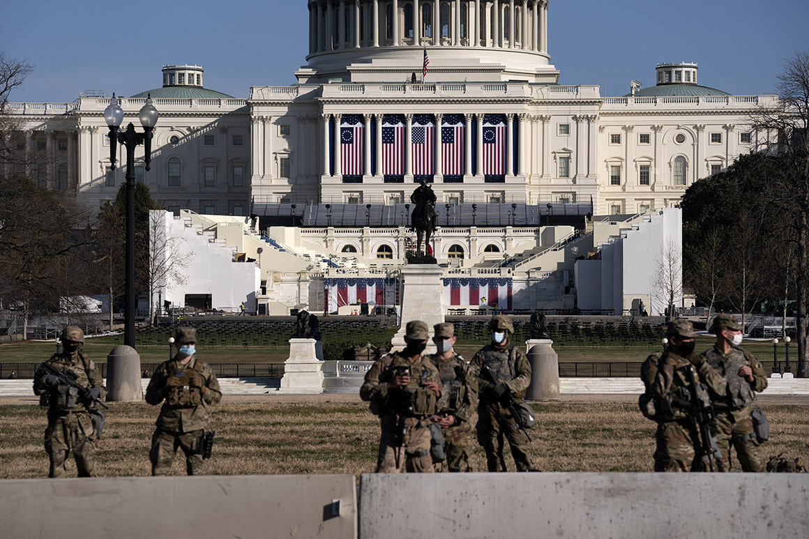 bidens inauguration rehearsal postponed due to security risks