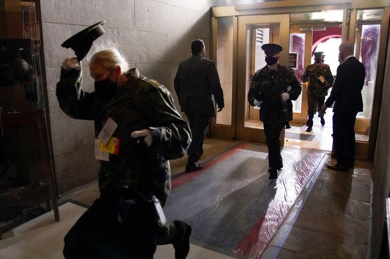 bidens inauguration rehearsal got evacuated after fire alarm near us capitol
