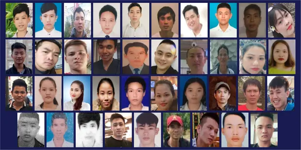essex lorry deaths smugglers gang who caused 36 vietnamese deaths sentenced and jailed