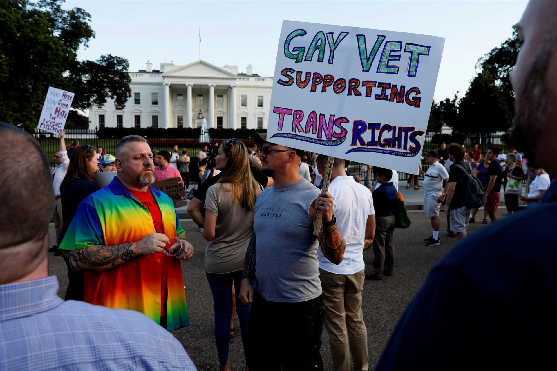 president joe biden reverses trumps transgender military ban given rights to lgbt community