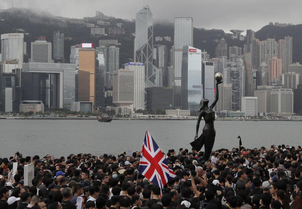 Hong Kong migrants flee to UK to start a new life, fearing China breakdown