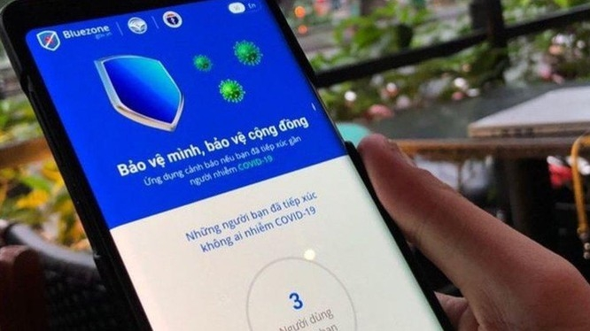 bluezone lottery to encourage people install bluezone app