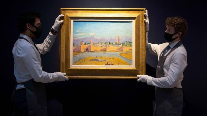 angelina jolie sells rare painting of winston churchill for record 115 million