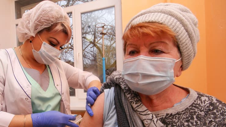 European begans review of Russia's Sputnik V vaccine, studying on it's efficacy