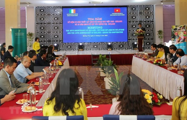 Quang Tri - Ireland relation marks 15-year of cooperation