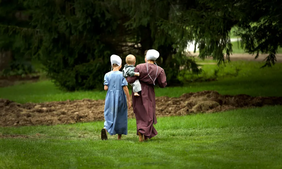 strange and unique life of the amish in the modern world