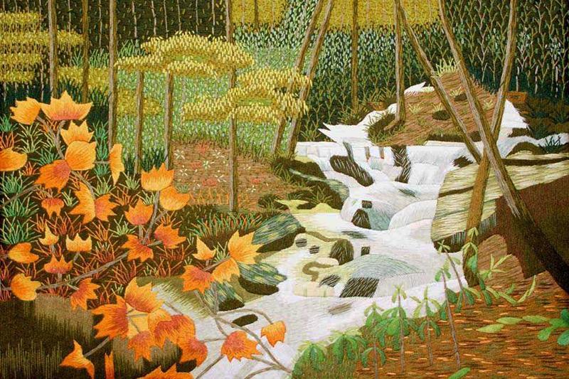 Vietnamese Silk Embroidery Art impresses international media