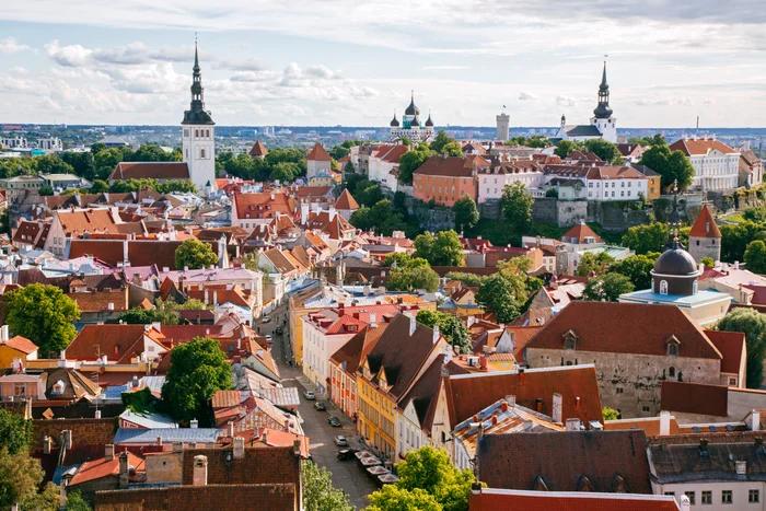 The beautiful city of Tallinn, Estonia (Photo by Alexander Spatari/Getty)