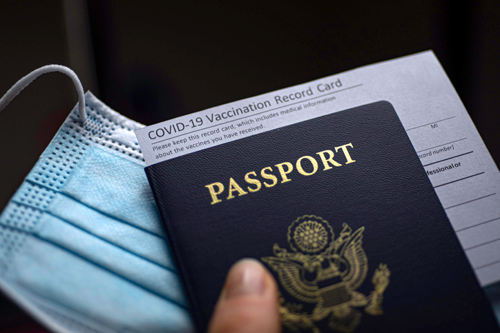Coronavirus vaccine passports could help provide a feeling of safety while traveling. (GETTY STOCK IMAGES)