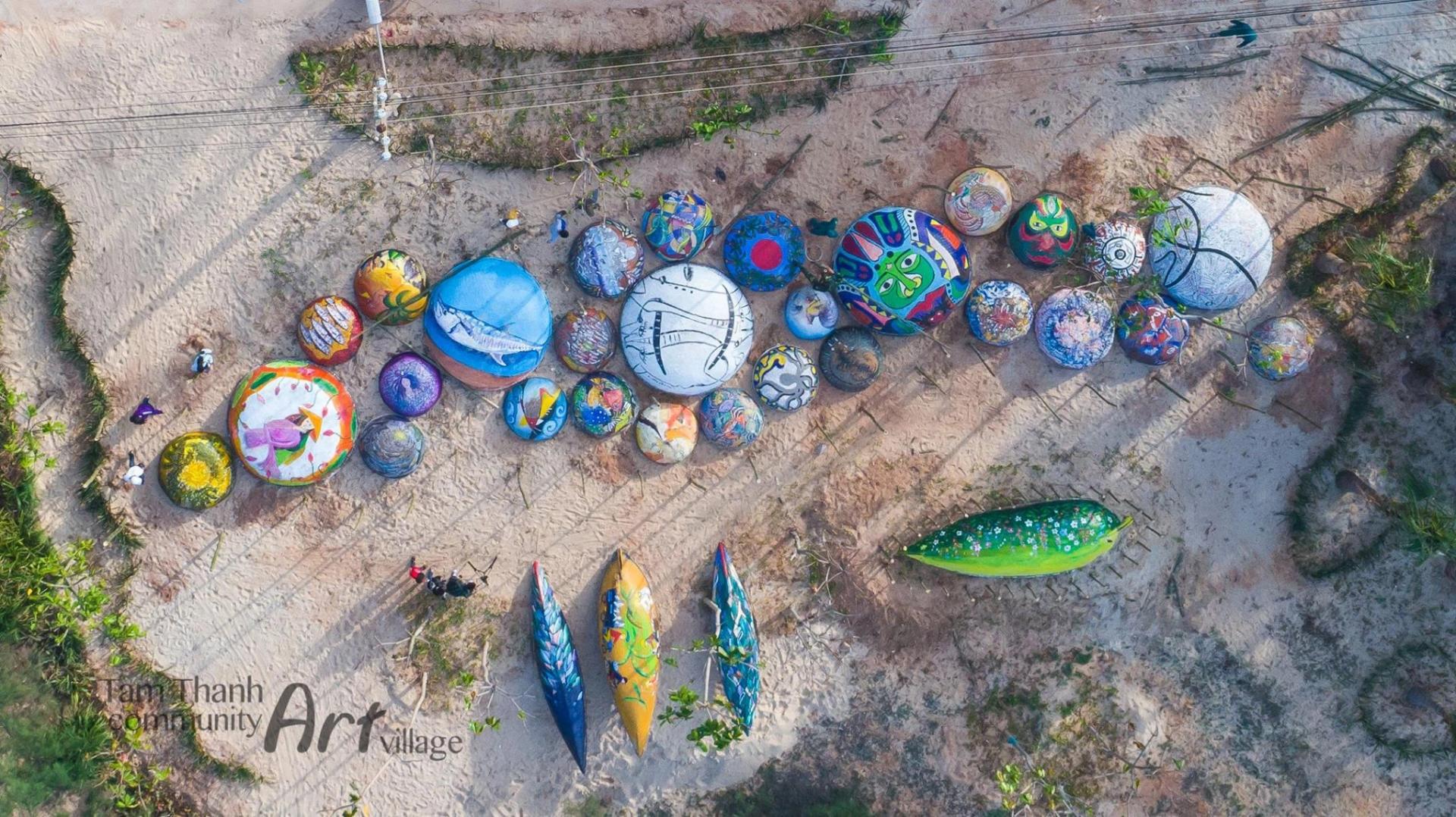 Photo: Tam Thanh Community Art Village