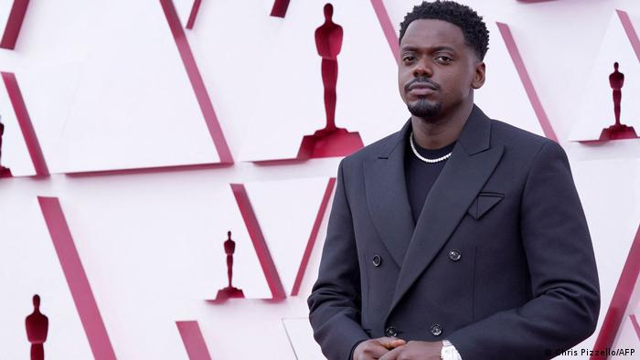 British actor Daniel Kaluuya won the prize for best supporting actor for 'Judas and the Black Messiah'. Photo: AFP