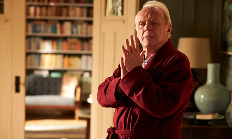 """Anthony Hopkins stars in Sony Pictures Classics' """"The Father."""" Sony Pictures Classics"""