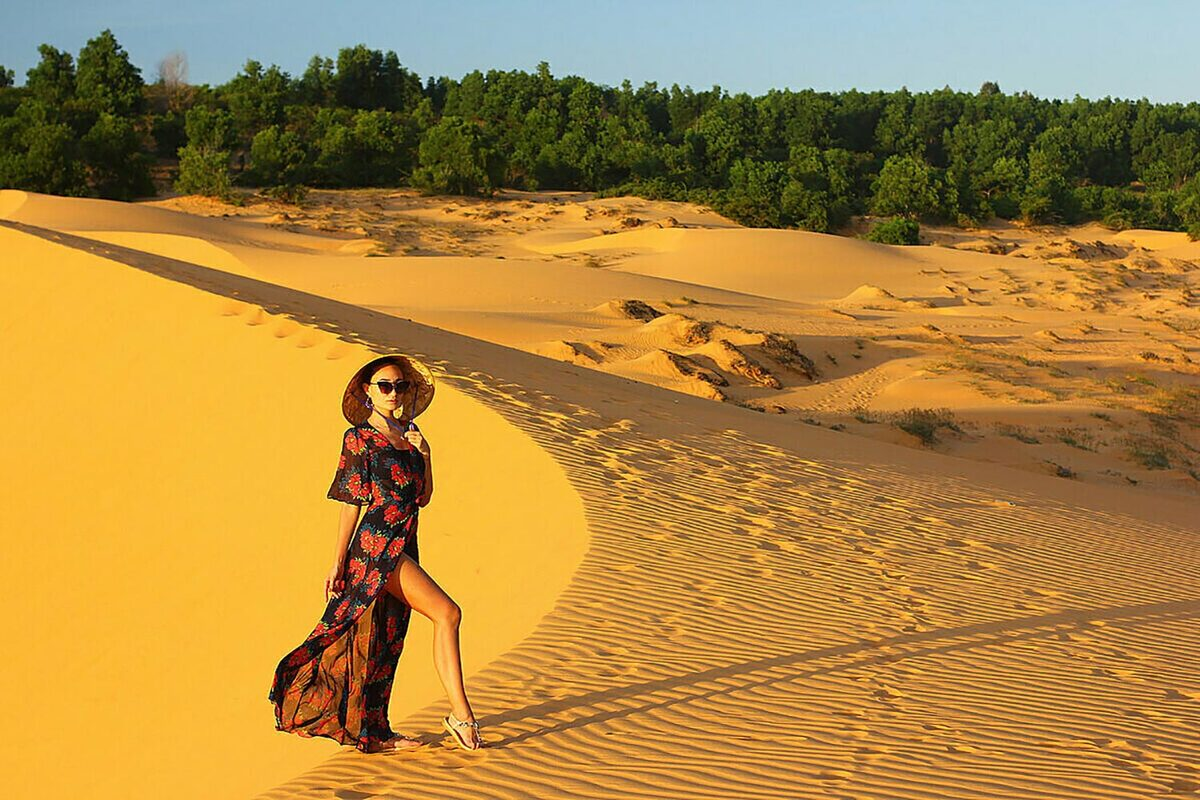 The Sand Dunes of Mui Ne are two geological wonders no visitor should ever miss out on their travel itinerary. There are numerous tour operators in Mui Ne that organise daytrips to these Saharan-like red and white sand dunes, but you can easily make your way to both locales if you prefer exploring according to your own pace.