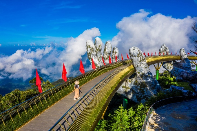 Da Nang (photo) is the most favorite destination for Hanoi tourists. Tourists from HCMC are attracted by Lam Dong, Kien Giang. Photo: Shutterstock