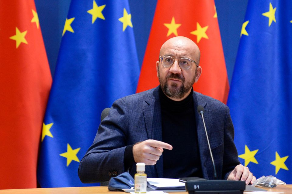 EU to guard against economic competition from China, EU-China investment put on ice