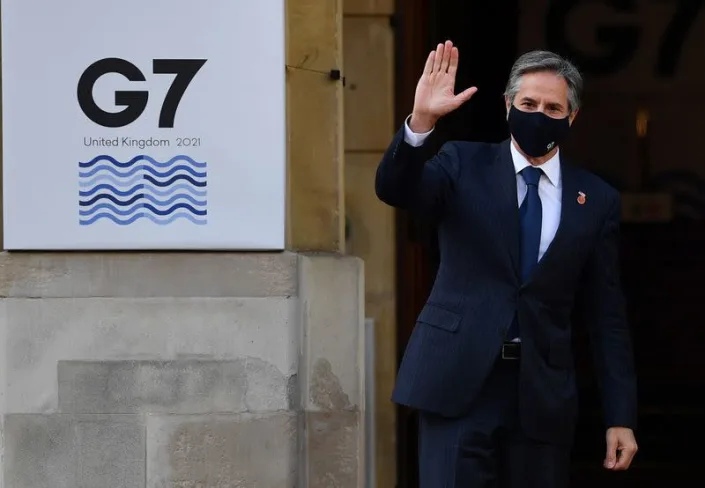 G7 foreign ministers meeting in London (Photo: Reuters)