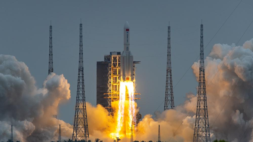 China launches first module of new space station (Photo: The Guardian)