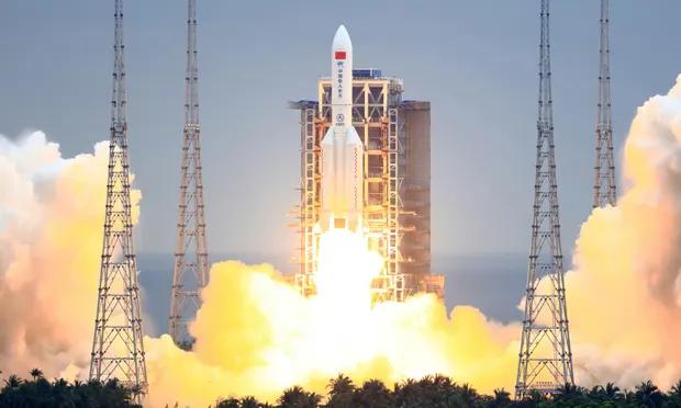 NASA critizes China's handling of rocket re-entry, saying it was