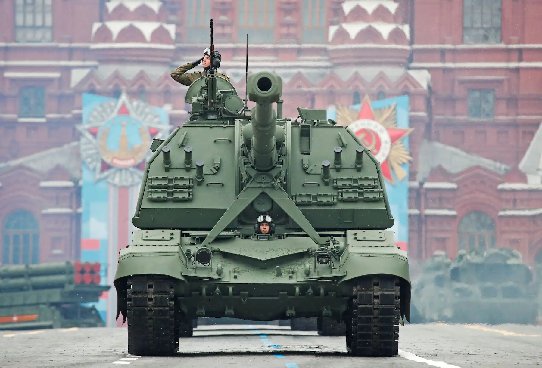 Russia shows off its military might in Victory Day Parade