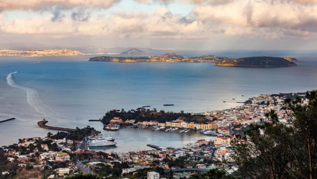 The other islands in the Bay of Naples, Procida and Ischia, are also vaccinating all residents. Laurent Emmanuel/AFP via Getty Images