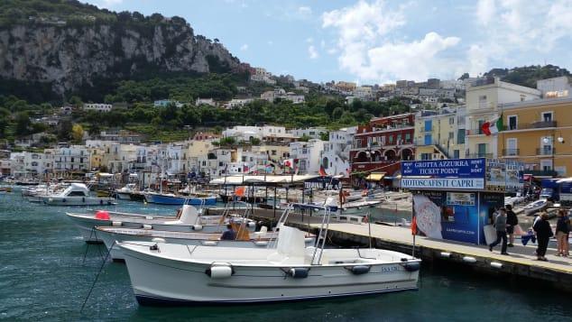 """Life in a """"Covid free"""" idyllic Italian island"""