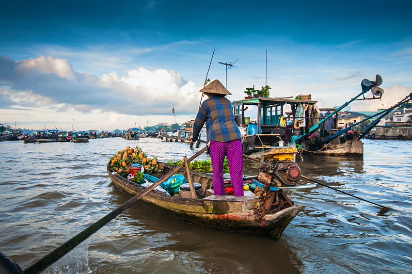 When you're not working, spend time exploring the Mekong Delta © filmlandscape / Shutterstock