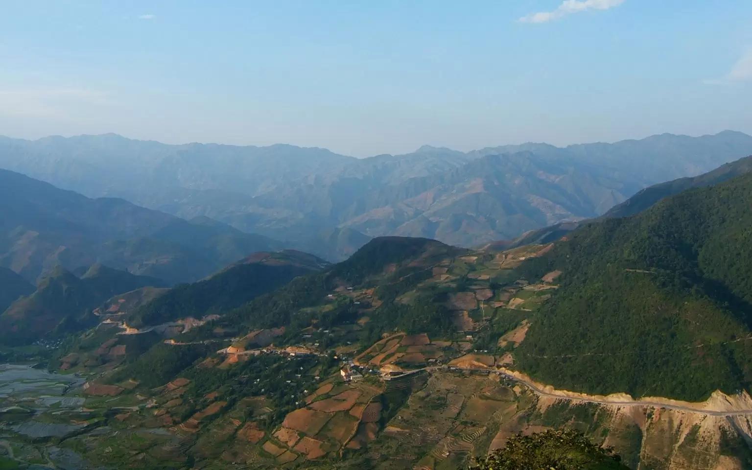 Khau Pha Pass in Yen Bai is one of the four greatest passes in northwest Vietnam. (Photo: Vietnamtravel)