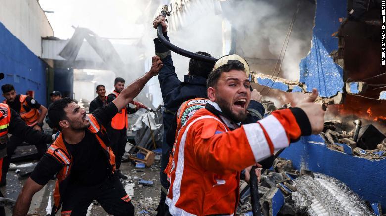 Violence erupts after clashes in Jerusalem (Photo: CNN)