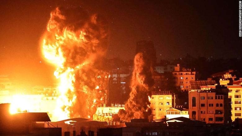 """Israel-Gaza conflict: Netanyahu vows to """"continue strikes at full force"""""""