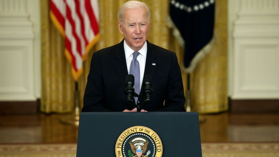 Israel should try to protect innocent civilians, Mr Biden said (Photo: Getty Images)