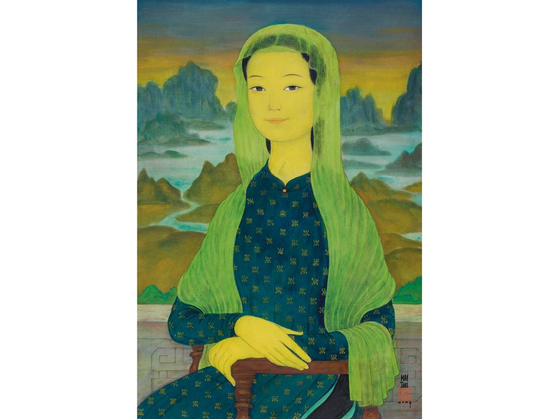 Famous Vietnamese paintings to be auctioned at Christie's