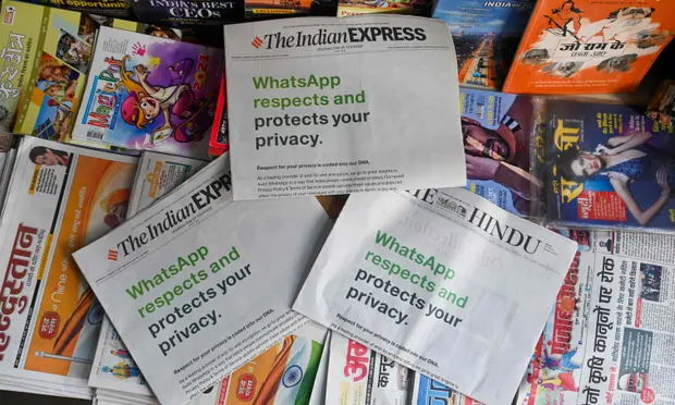 """WhatsApp sues India government for """"severely undermine"""" user's privacy"""