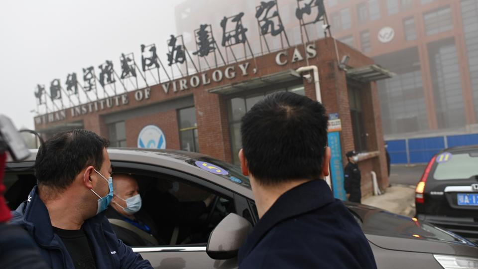 Wuhan Institute of Virology in Wuhan is suspected to be involved in the origins of Covid, according to some theories.  AFP VIA GETTY IMAGES