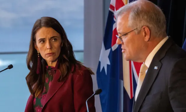 """""""Those who seek to divide us"""": Australia and New Zealand present united front on China"""
