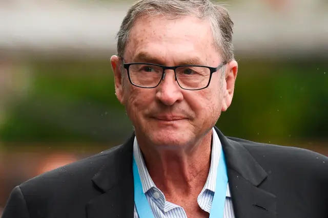Lord Ashcroft, businessman and politician, arrives at the Manchester Central convention complex in Manchester on 29 September, 2019, on the first day of the annual Conservative Party conference  (AFP via Getty Images)