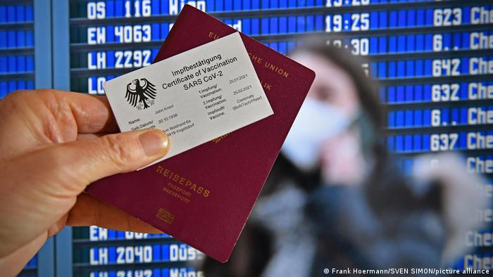 The EU is pushing ahead with work on a single COVID-19 vaccination passport (Photo: Frank Hoermann)