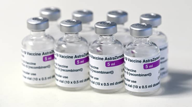 The Oxford-AstraZeneca covid vaccine. Karwai Tang   Getty Images