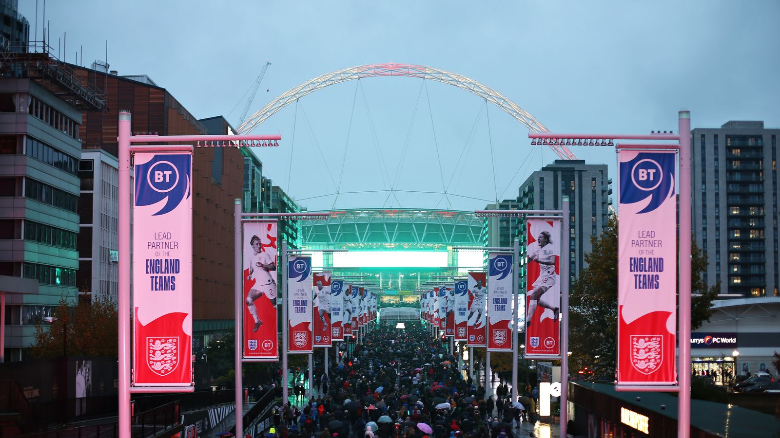 Wembley will host the semi-finals and the final at Euro 2020. Photo: Skysports