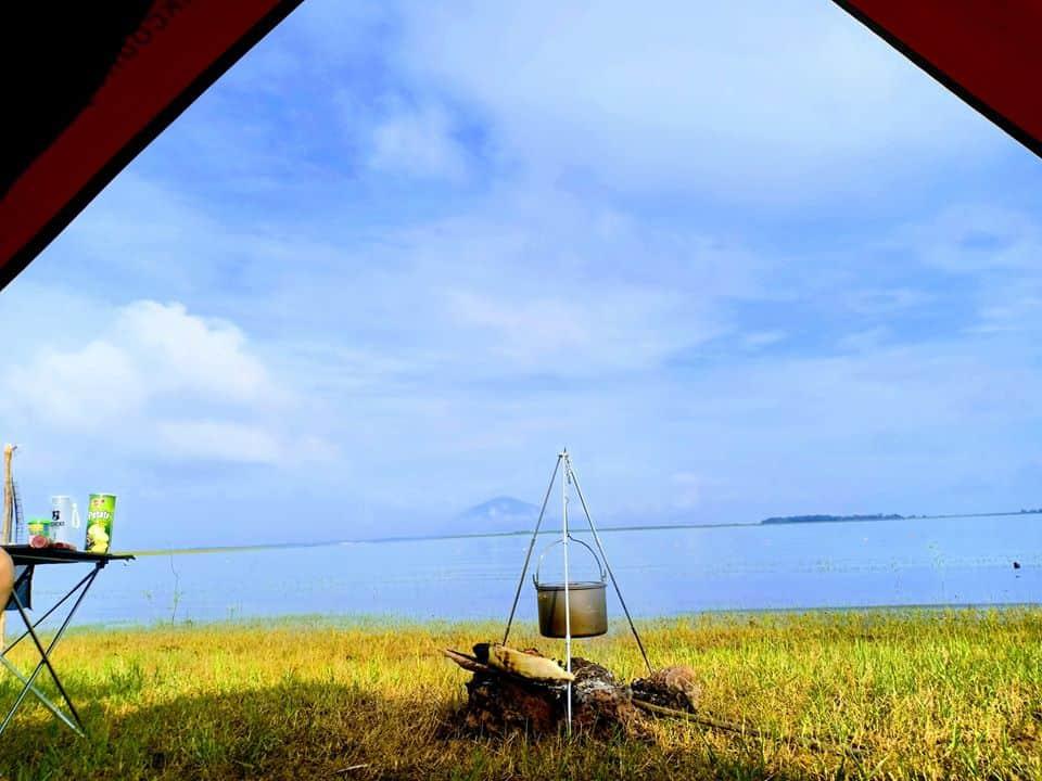 Dau Tieng Lake Binh Duong is a favorite weekend picnic spot – Photo source: FB Nguyen Hoang Nhi