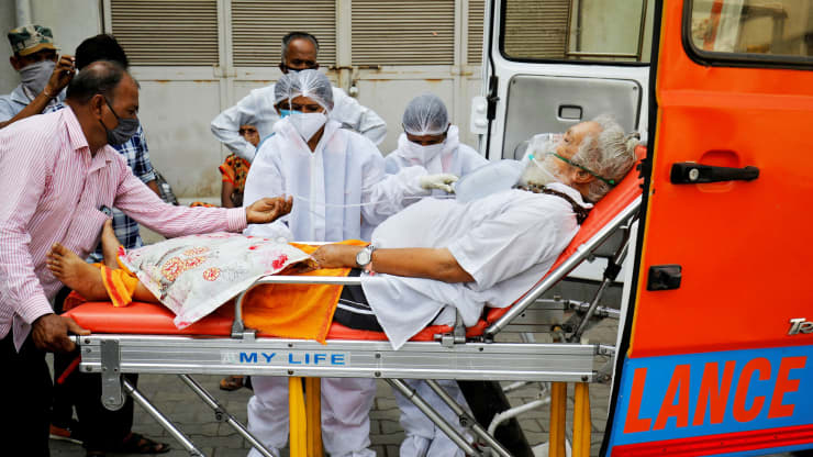 Covid-19 in India and the world latest news: India reports the highest daily Covid deaths