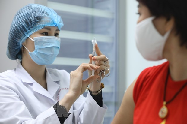 Nano Covax vaccine is one of the three Covid-19 vaccines that are developed domestically by Vietnam from 2020, and so far has the fatest research progress. Photo: TTXVN