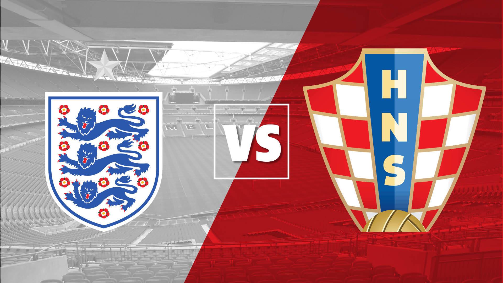 England vs Croatia: How to watch and live stream around the world