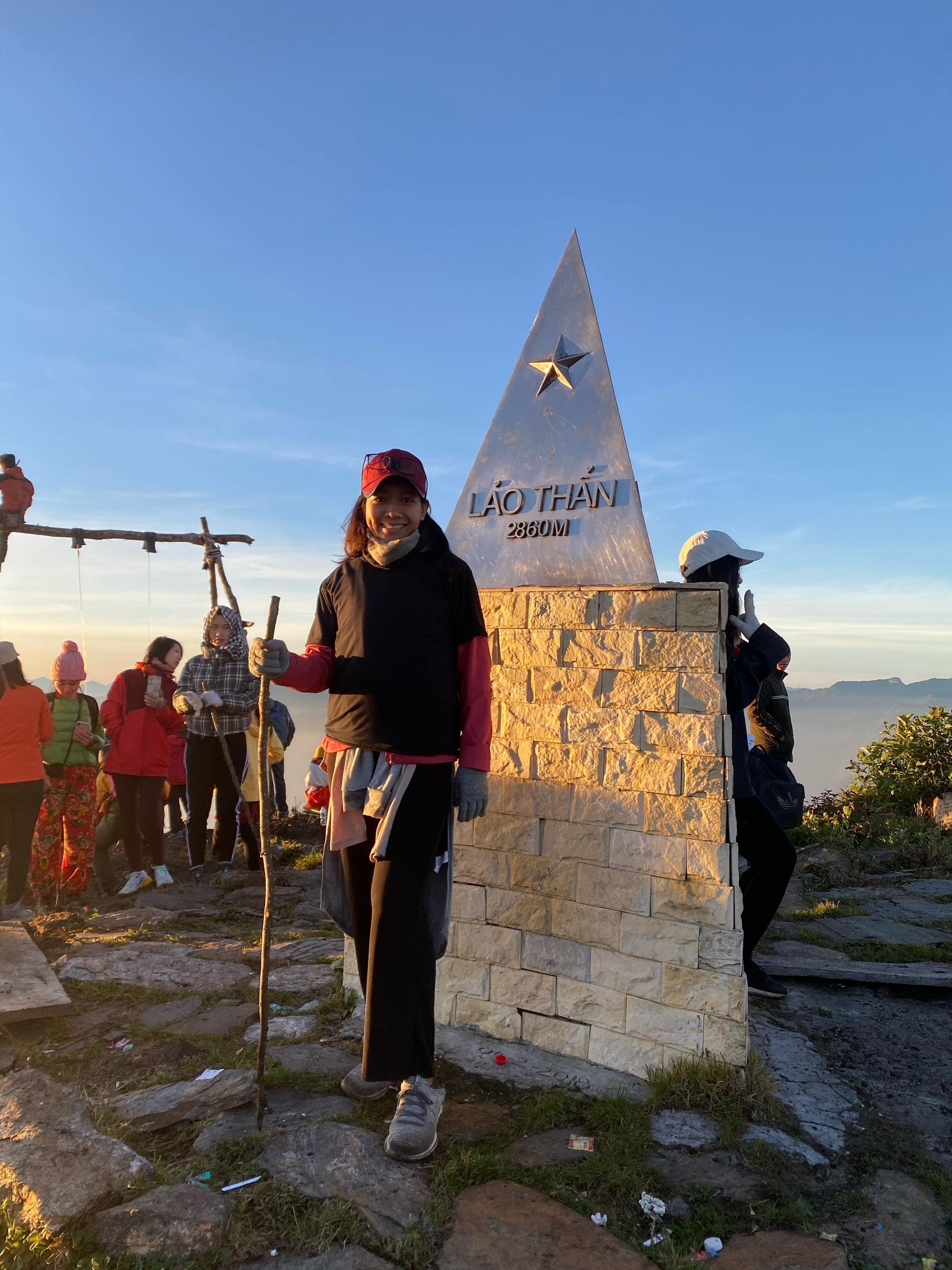 On the peak of Lao Than mountain (Lao Cai).