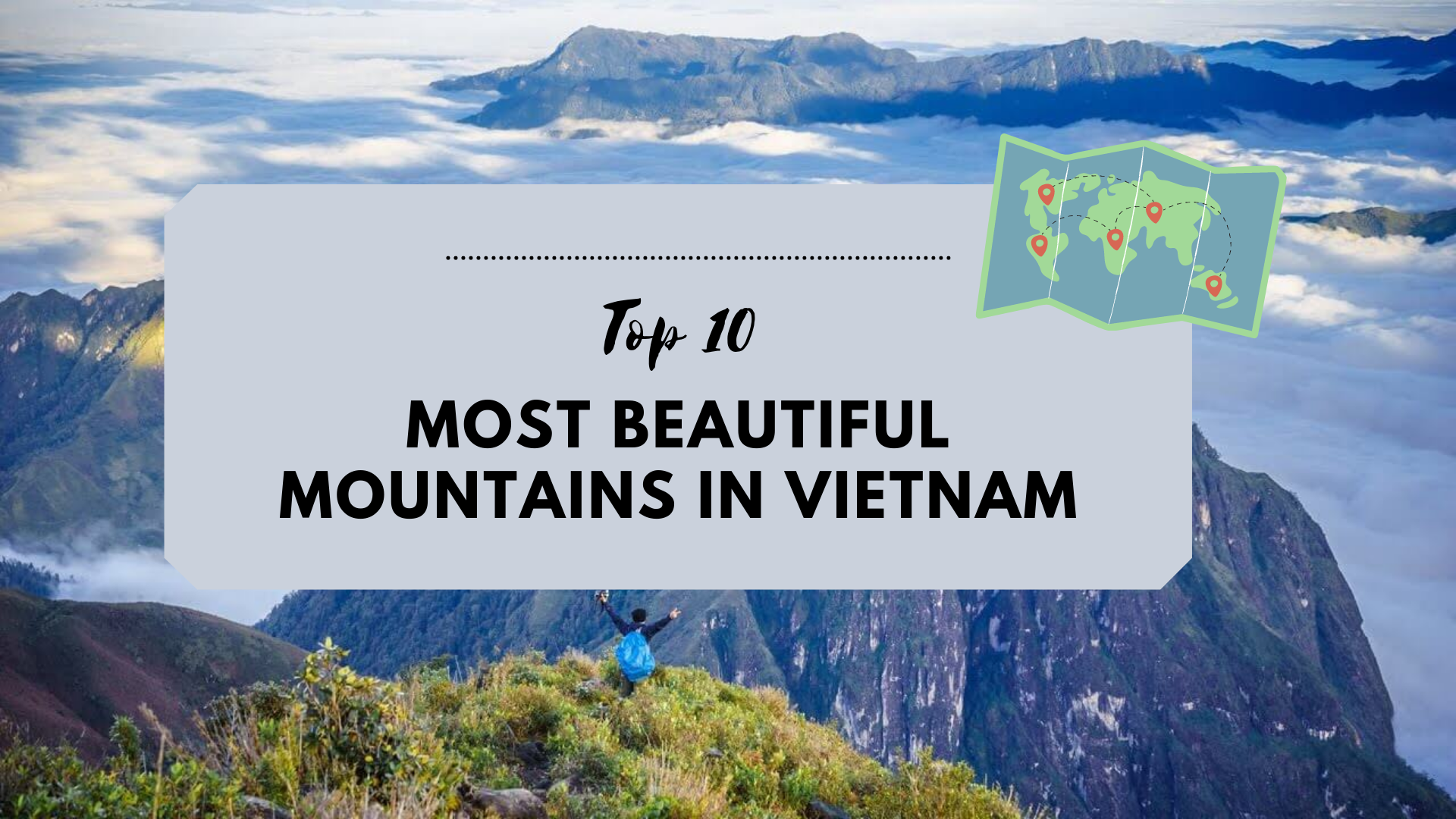 Top 10 most beautiful mountains in Vietnam