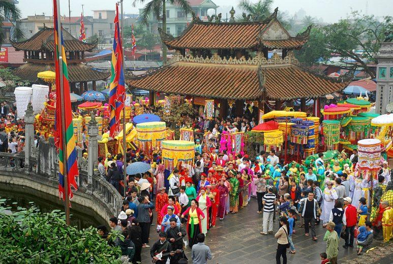 Photo: Nam Dinh Vietnam Traditional Festivals