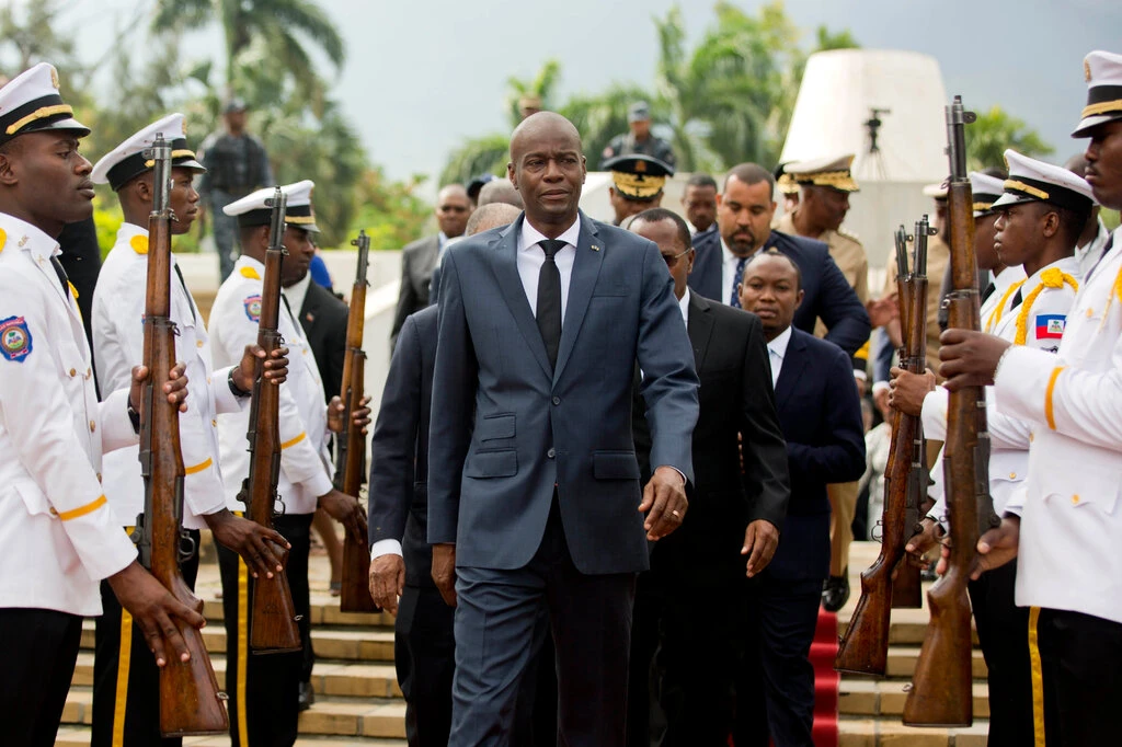 President Jovenel Moïse of Haiti in Port-au-Prince in 2018. He was assassinated on Wednesday.Credit...Dieu Nalio Chery/Associated Press