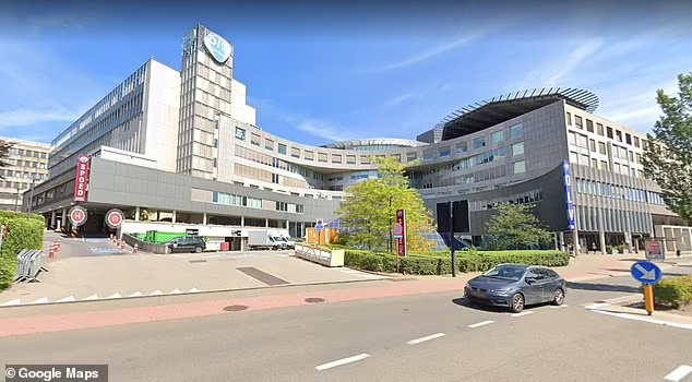 A 90-year-old woman admitted to OLV Hospital in the Belgian city of Aalst was found to have been positive for both the alpha (UK) and beta (South African) strains of Covid-19. Photo: Google Maps