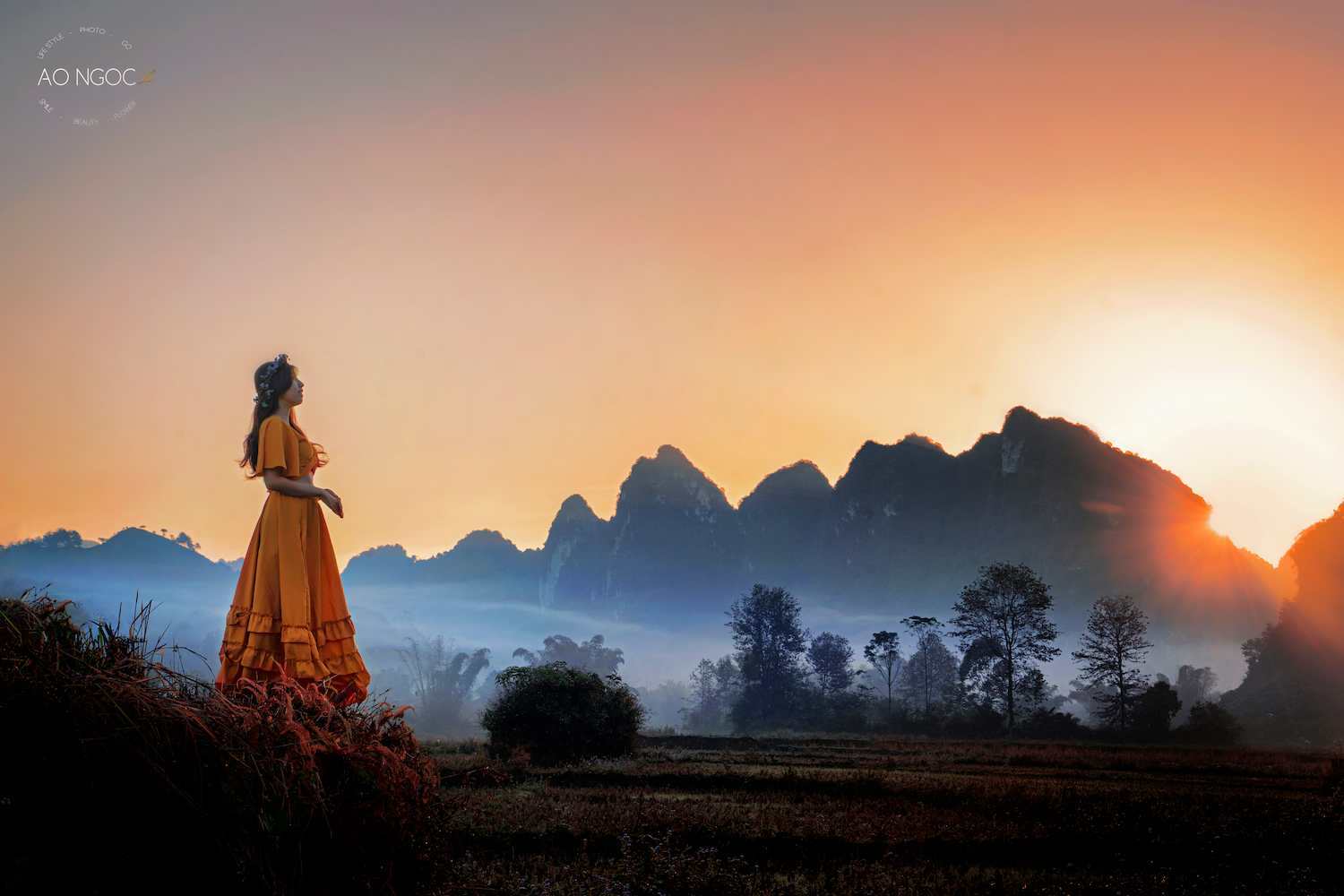 Sea of cloud in Cao Bang. Photo: NVCC