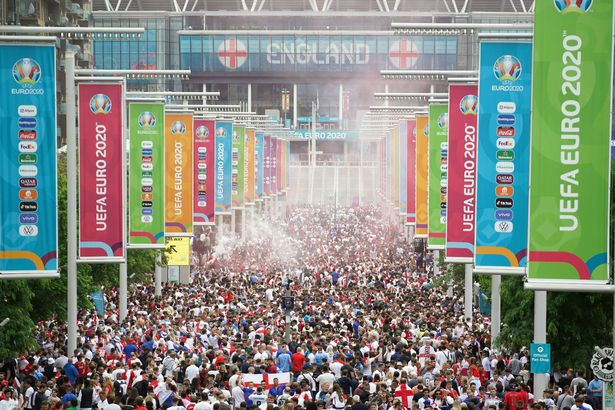 England are facing increasing calls to be banned from the 2022 World Cup over the fan violence which marred their Euro 2020 final defeat against Italy on Sunday night (Image: PA)