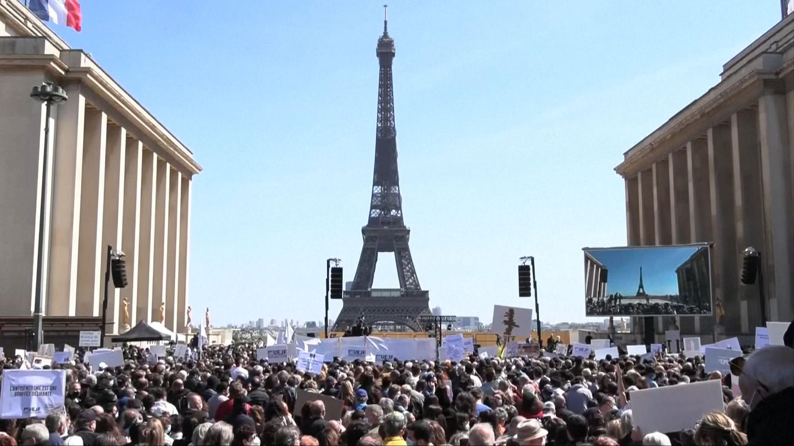 The news will come as a blow to many who were planning a getaway in France. Photo: Sky News